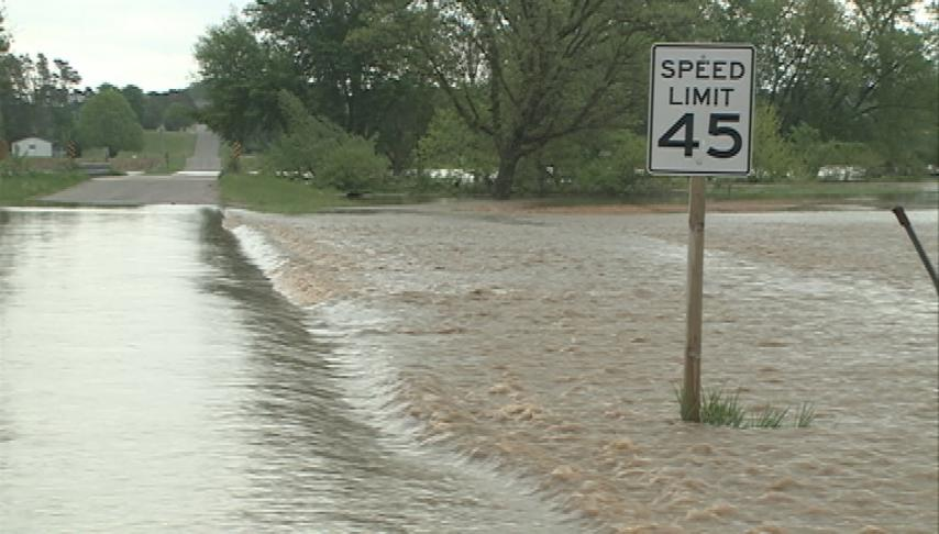 Trempeleau County deals with first floods of year