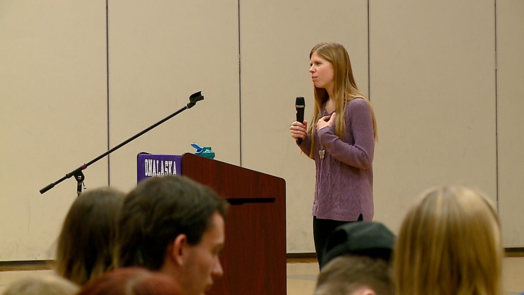 Focus on Equality given lessons for students in Onalaska