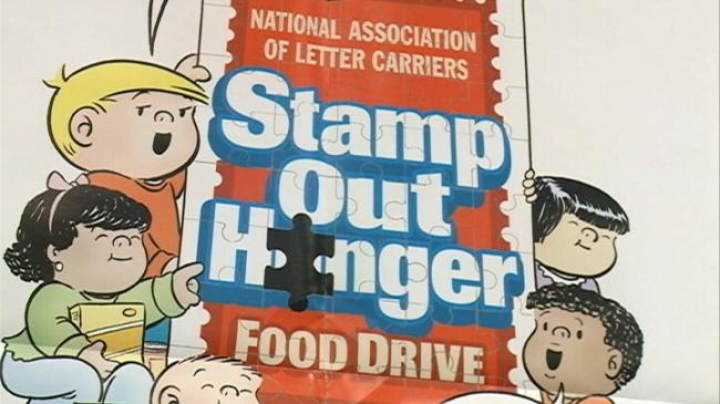 Letter carriers, volunteers collect donations for hunger-fighting organizations