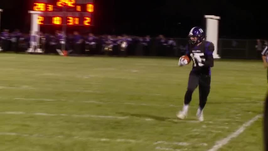 News 8 Highlight Zone: Holmen rushes for 436 yards in win vs. Central, Sparta handles Tomah