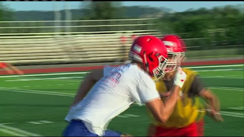Logan football tweaking offense, emphasizing technique to overcome lack of size