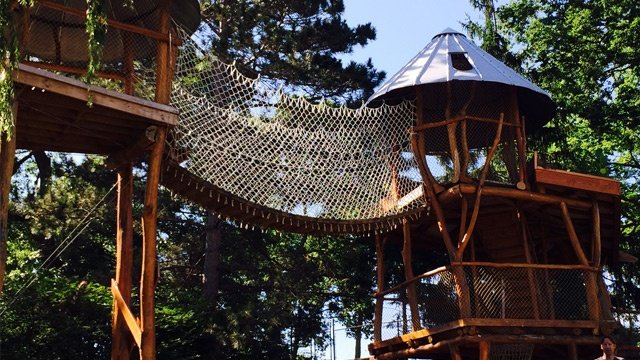 Grand opening of Forest Scramble Playscape held at EcoPark