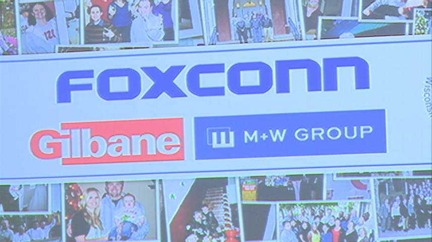Foxconn picks 28 companies to begin work on Wisconsin plant