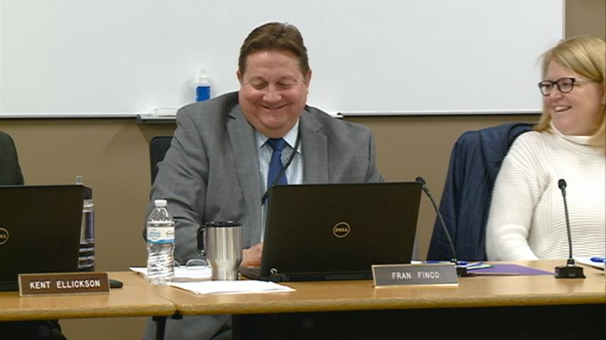 Onalaska Superintendent Fran Finco formally requests his retirement be granted