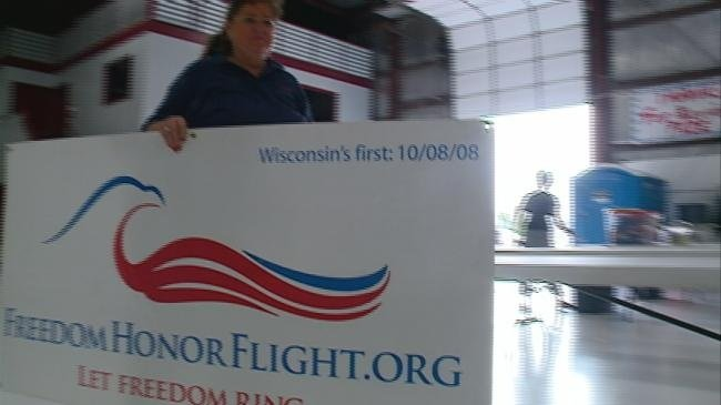Freedom Honor Flight taking off for 18th mission