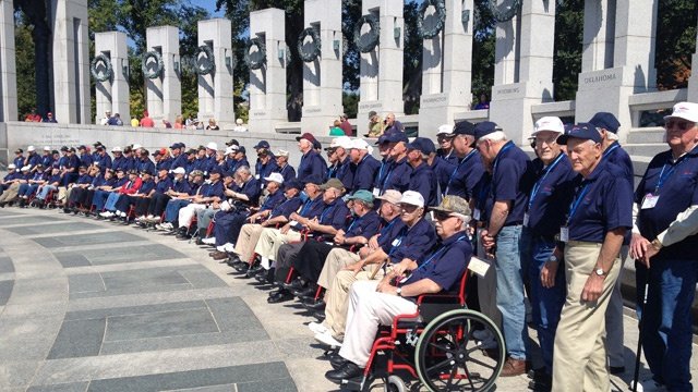 Freedom Honor Flight takes veterans to D.C.