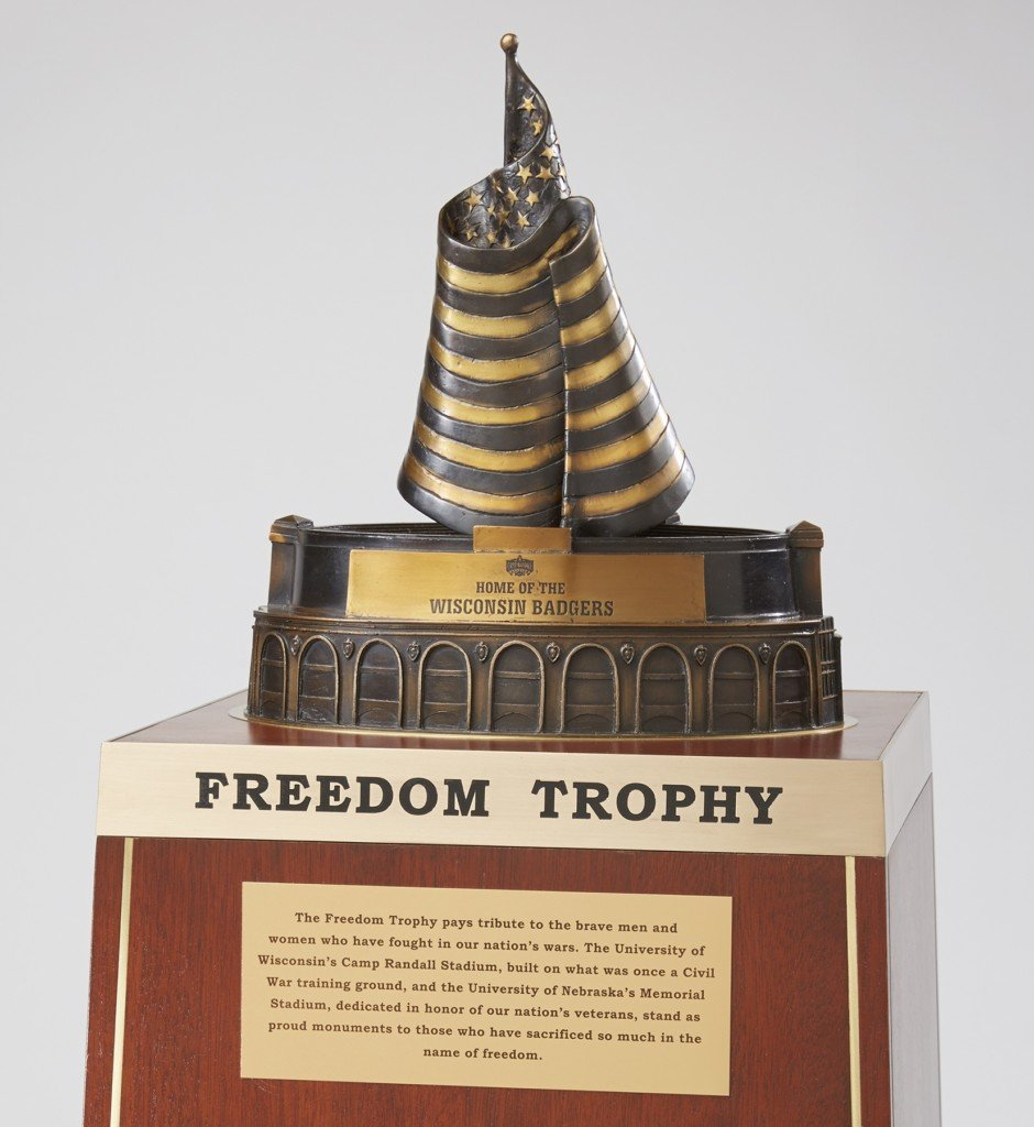 Badgers, Nebraska to play for Freedom Trophy