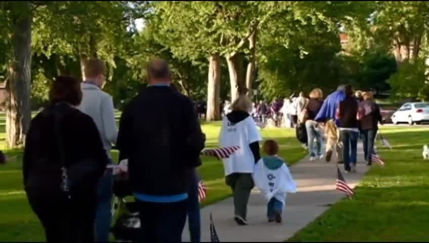 Operation Homefront hosts Freedom Walk in La Crosse on Sept. 11