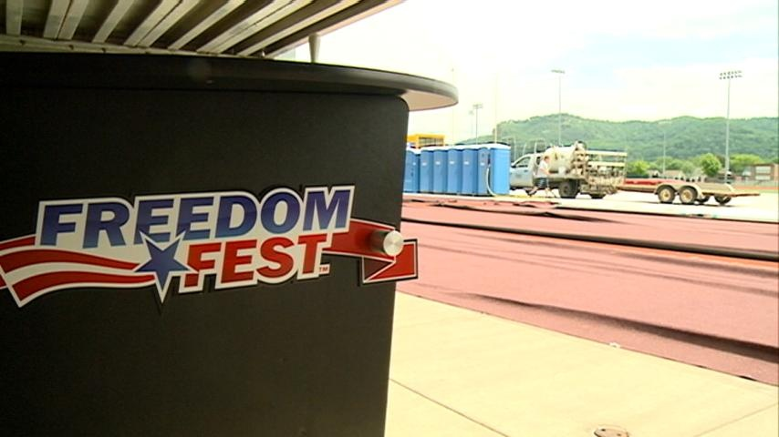 Freedom Fest packs up after rain soaked night