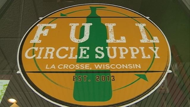 La Crosse business works to reduce waste