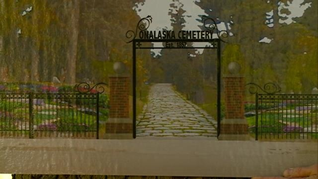 Onalaska Cemetery is one step closer to getting a facelift this year
