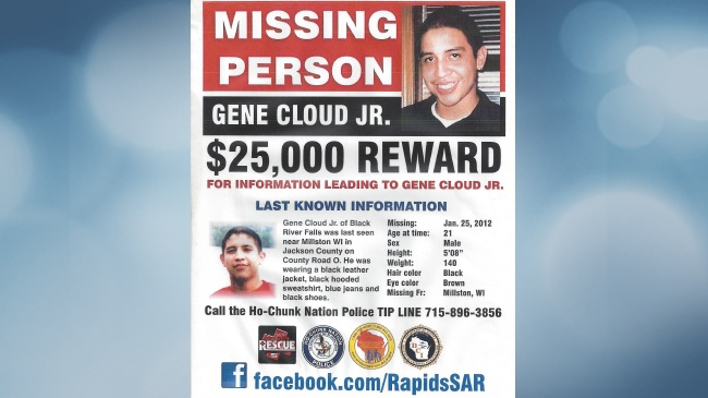 Search organized for 2012 Jackson County cold case