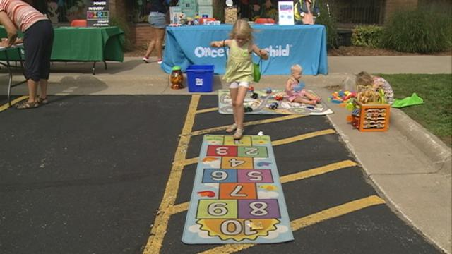PBS encourages local children to get more active