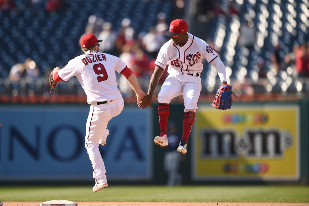 Nationals match team HR record with 8, rout Brewers 16-8