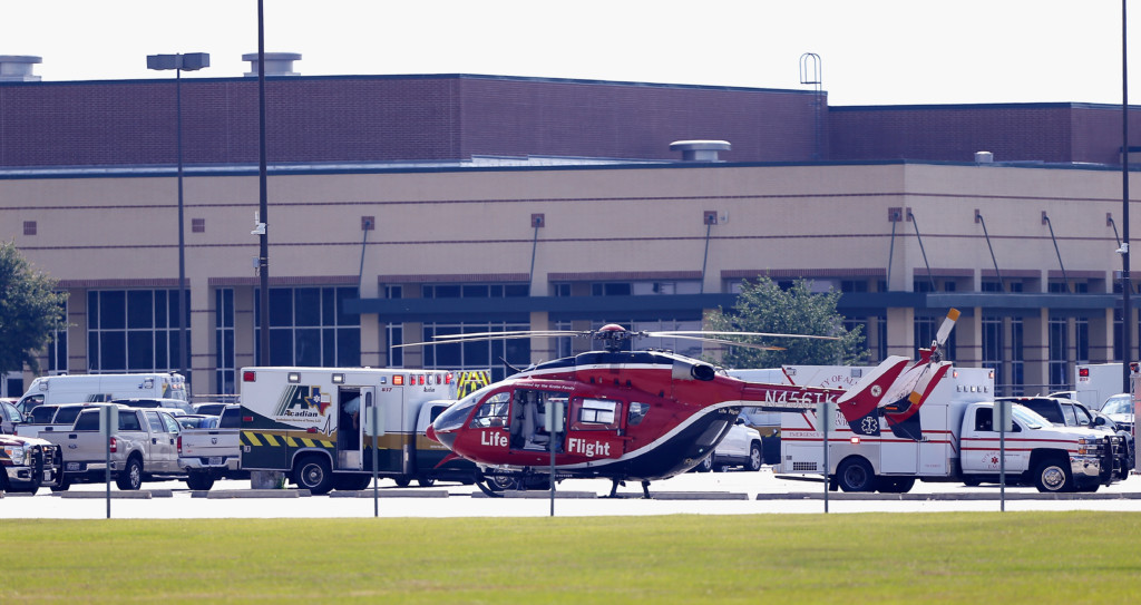 The Latest: Texas shooting may spur school security bill