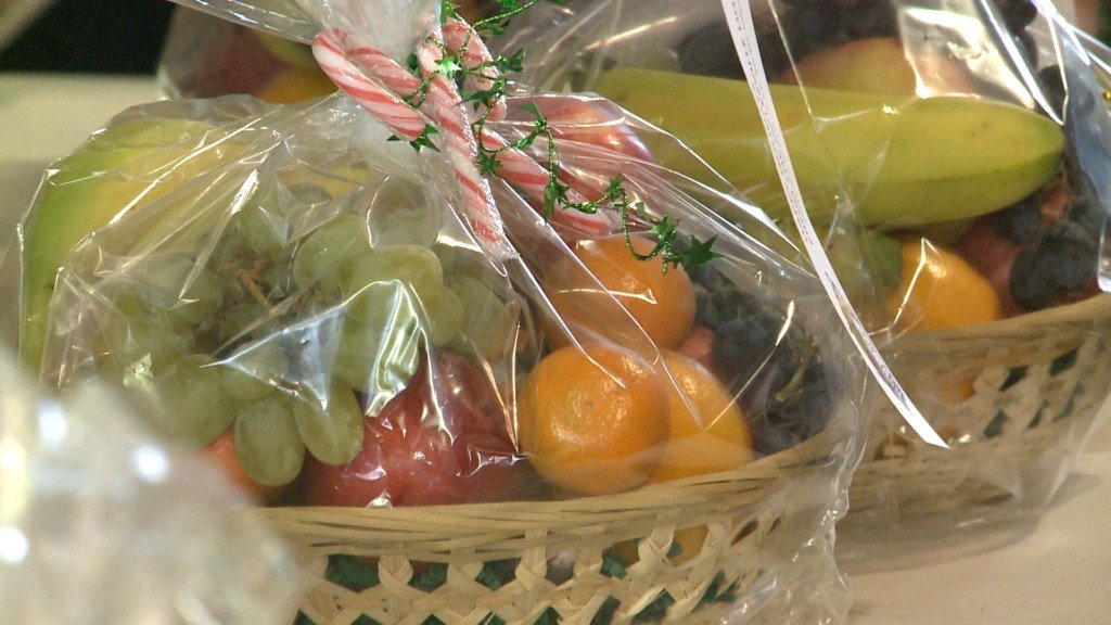 Local Lions Club is spreading holiday cheer, one gift basket at a time
