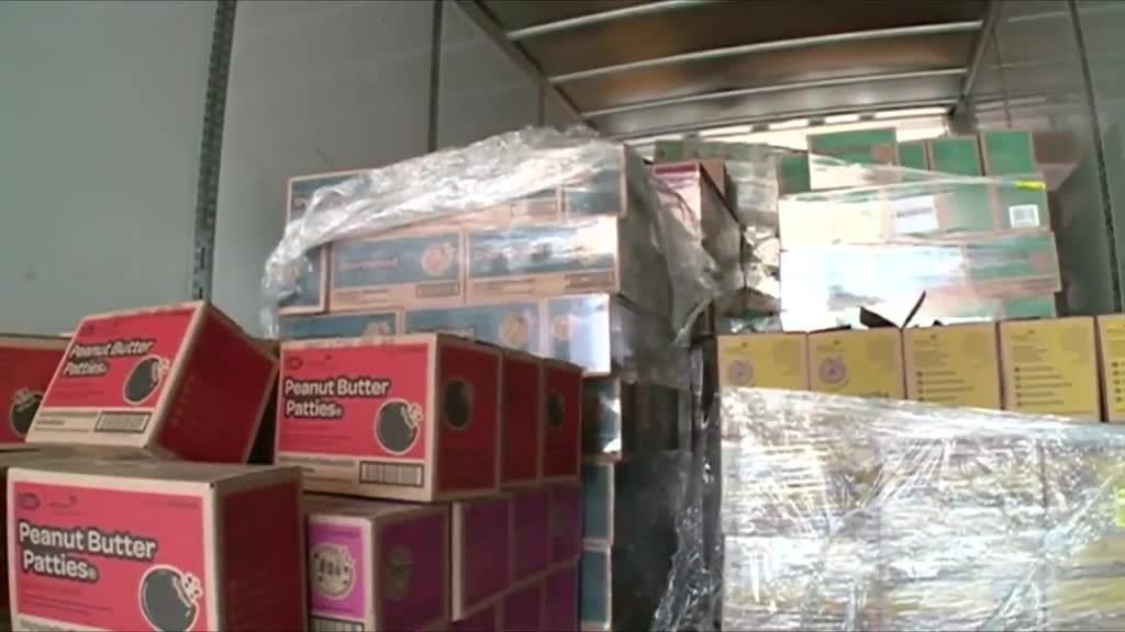 Local Girl Scouts donate cookies to soldiers