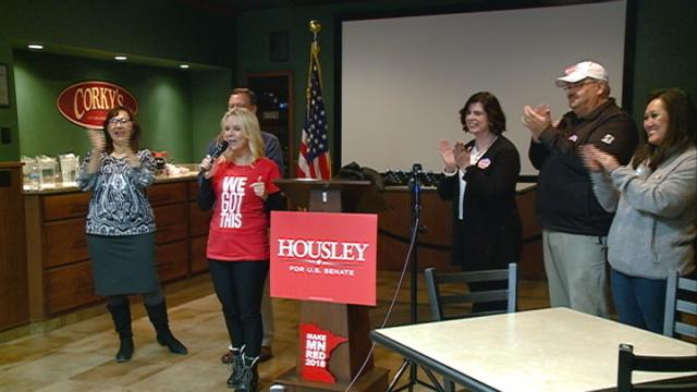 Republican candidates talk to local Minnesota voters before election