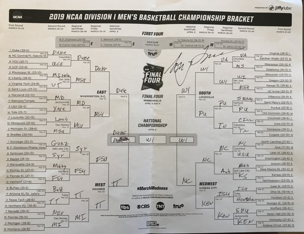 Chances are your bracket isn't as perfect as you think