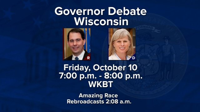 WKBT airs gubernatorial debate Oct. 10