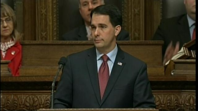 Gov. Walker's State of the State address