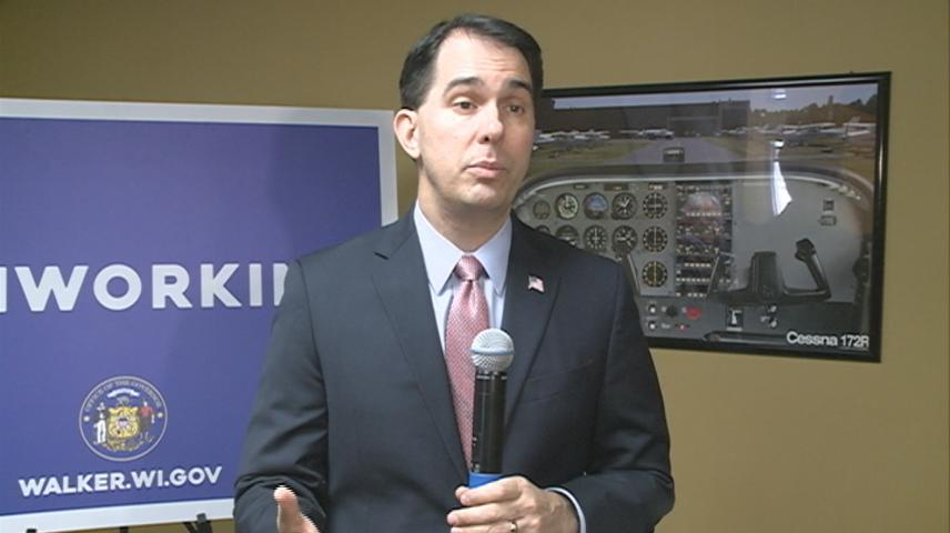 Governor Walker gives two-year budget address