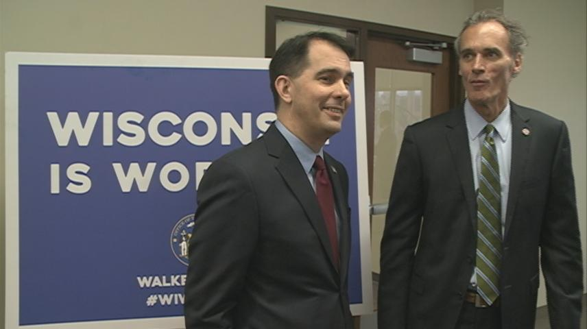 Governor Walker talks tuition cuts, additional funding for UW System
