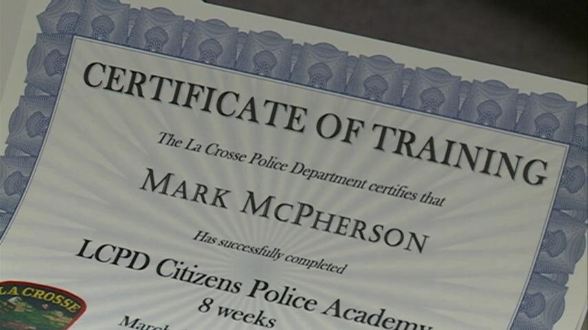 Graduation day for Citizen's Police Academy