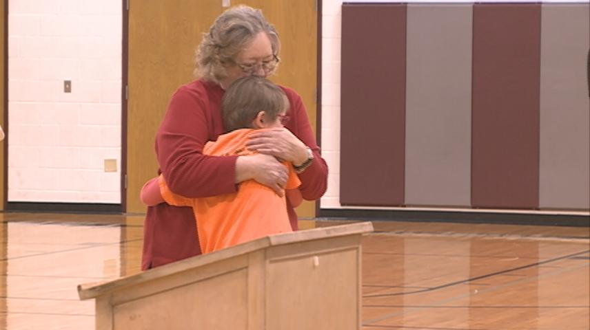 Second-grader honored for role in saving grandma's life