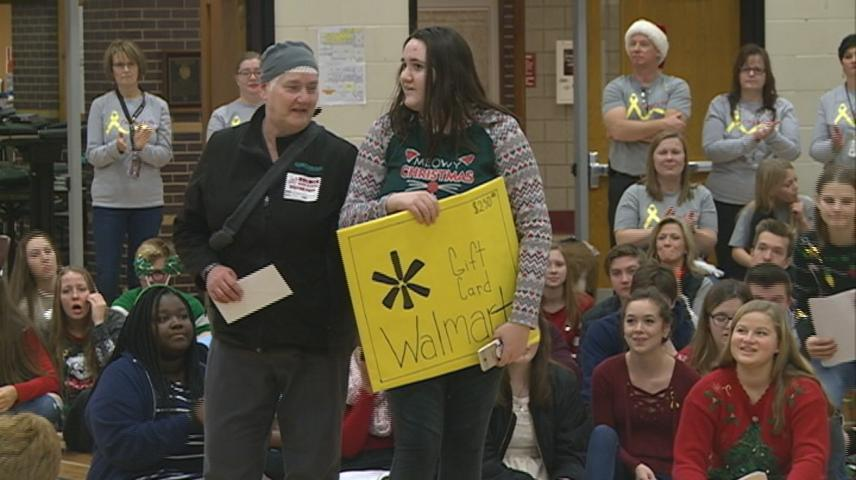 Wishes come true in Holmen thanks to student Wish Wall