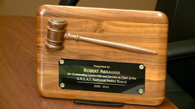 Asst. Chief Abraham appointed G.R.E.A.T. National Policy Board chair