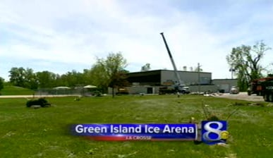 Tentative plan is to repair Green Island Ice Arena