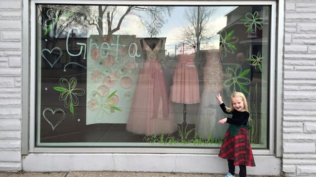 Bridal shop in La Crosse honors 5-year-old girl