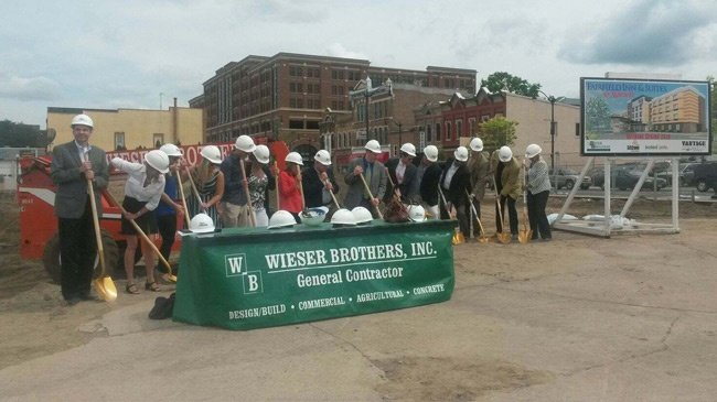Groundbreaking ceremony held for Fairfield Inn & Suites in La Crosse