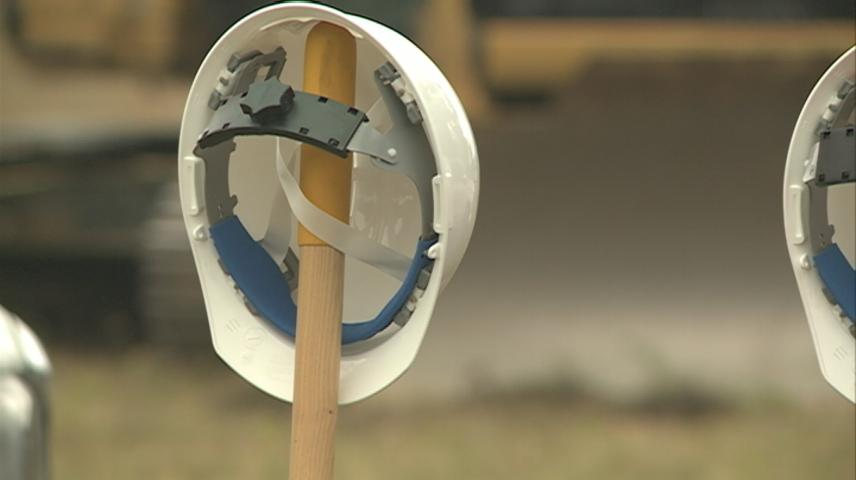 Crews break ground on Onalaska's new International Performing Arts Training Campus