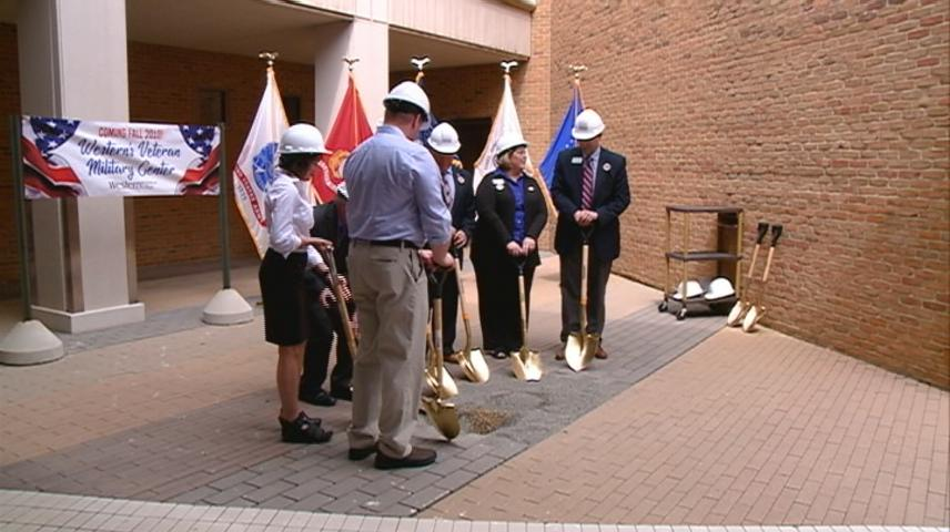 Western Technical College in La Crosse breaks ground on new Veteran Military Center