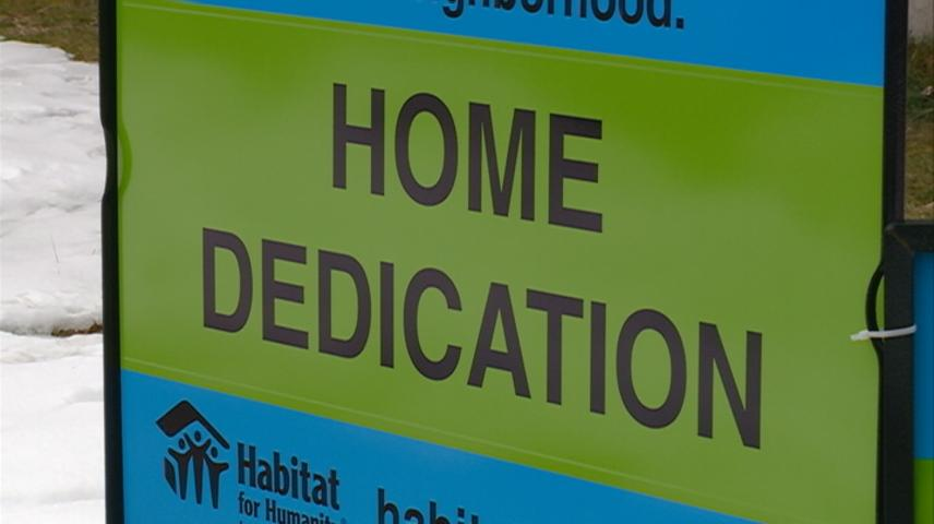 Habitat for Humanity of La Crosse celebrates its first twin home