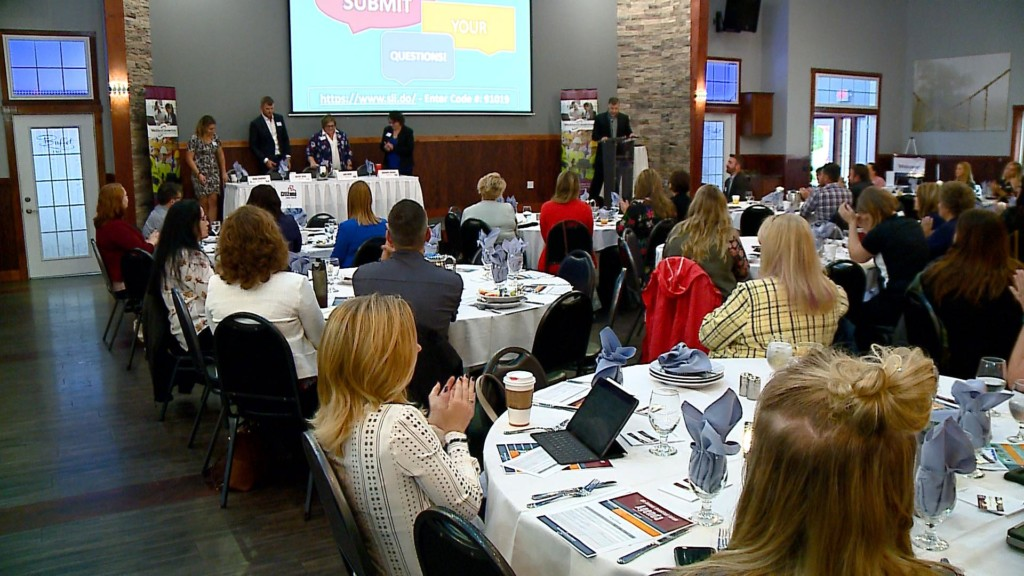 Business leaders discuss changing communication between generations