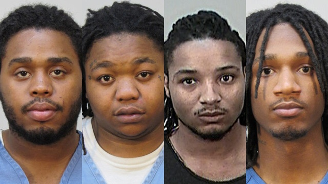 Men accused of hosting sex party with minors