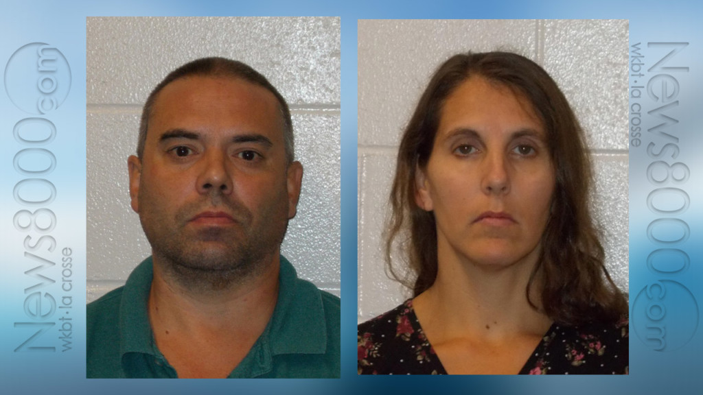 Suspects in case of caged children appear in Monroe County Court