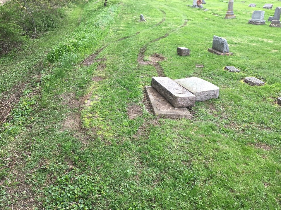 Trempealeau Sheriff looking for driver who damaged cemetery