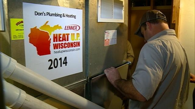 Local company donates heat just in time for snow