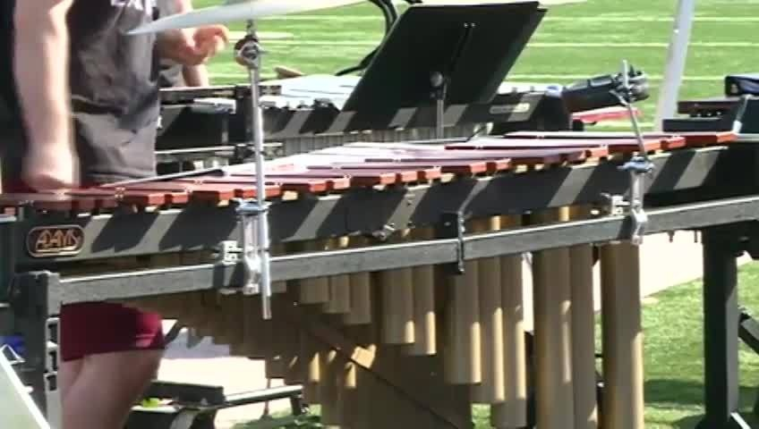 High school music students join Screaming Eagles Marching Band