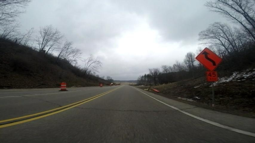 Highway 16 construction to begin Monday morning