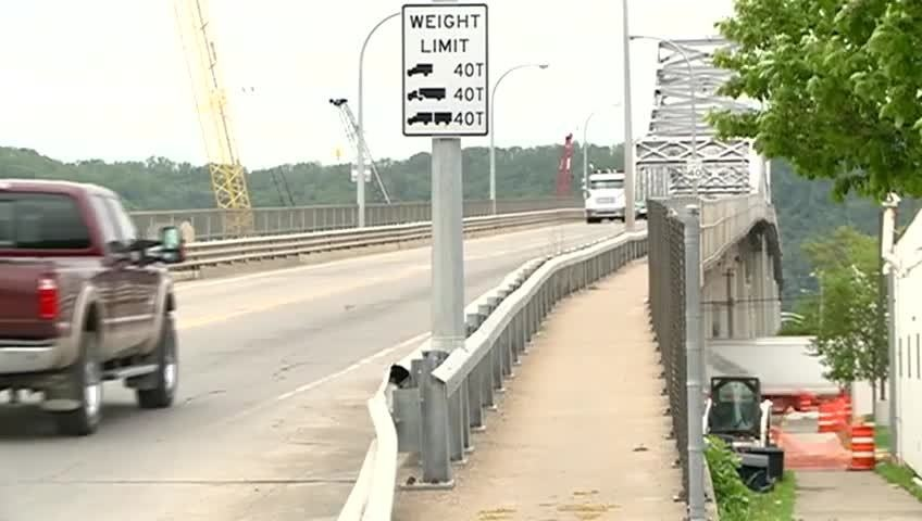 Highway 43 bridge cleaning may cause traffic delays
