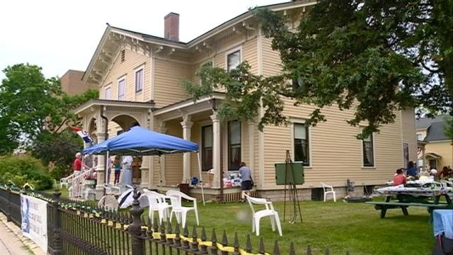 Ice Cream Social at Hixon House historical landmark