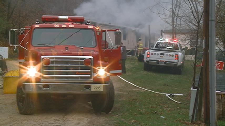 De Soto Fire Department responds to fire at home of one of its fire fighters