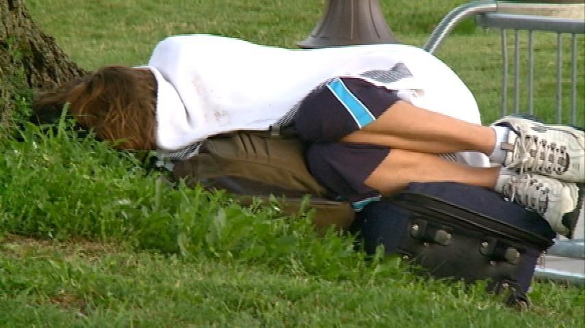 Number of unsheltered homeless continuing to rise