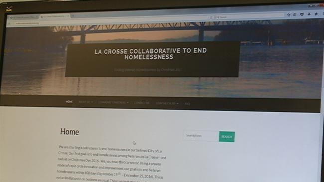 Homelessness website launches, beginning of goal to end homelessness