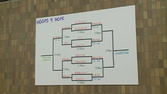 Local athletes help protect victims of violence with Hoops 4 Hope